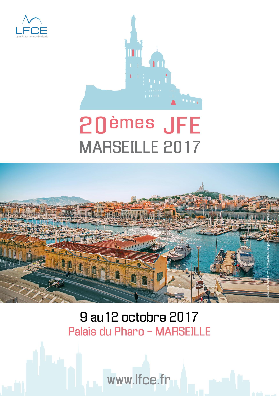 JFE 2017 - CONGRES D'EPILEPTOLOGIE - MARSEILLE (593 PERSONNES)