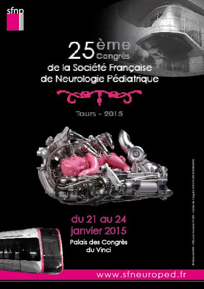 SFNP 2015 - CONGRES DE NEUROPEDIATRIE - TOURS (635 PERSONNES)