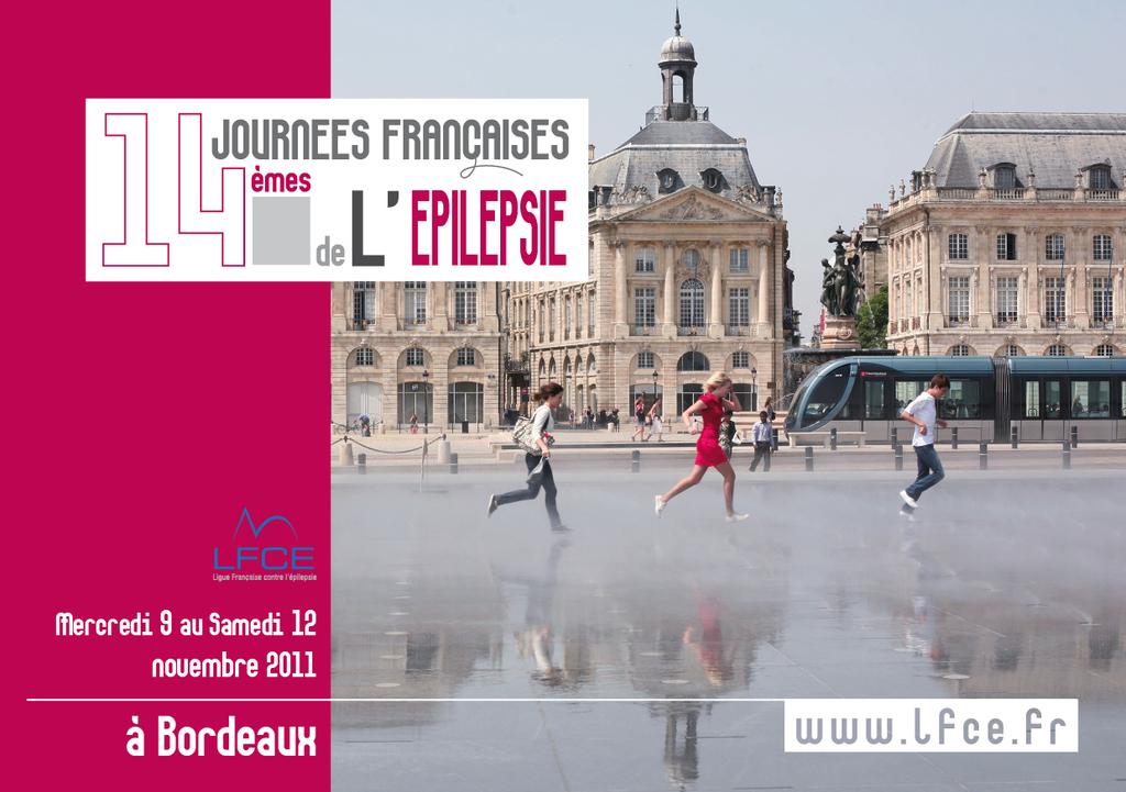 JFE 2011 CONGRES D'EPILEPTOLOGIE - BORDEAUX (518 PERSONNES)