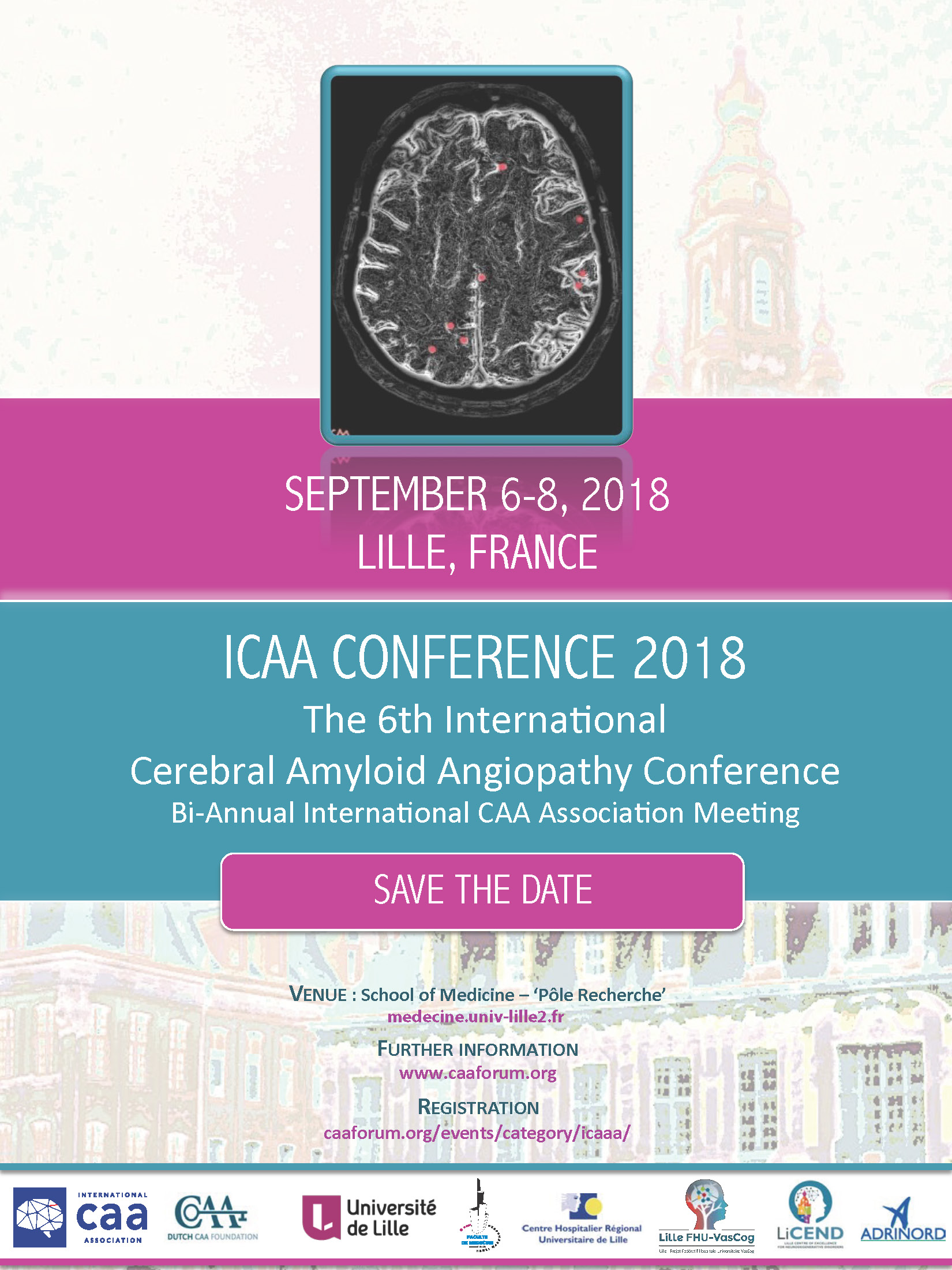 ICAA  CONFERENCE 2018 - CONGRES D'EPILEPTOLOGIE - LILLE
