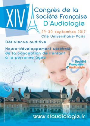 SFA 2017 - CONGRES D'AUDIOLOGIE - PARIS (303 PERSONNES)