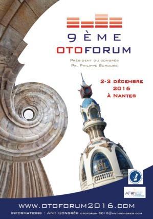 OTOFORUM 2016 - CONGRES D'OTOLOGIE - NANTES (389 personnes)