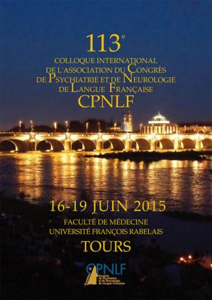 CPNLF 2015 - CONGRES DE PSYCHIATRIE ET NEUROLOGIE - TOURS (705 PERSONNES)
