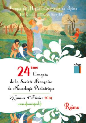 SFNP 2014 - CONGRES DE NEUROPEDIATRIE - REIMS (507 PERSONNES)