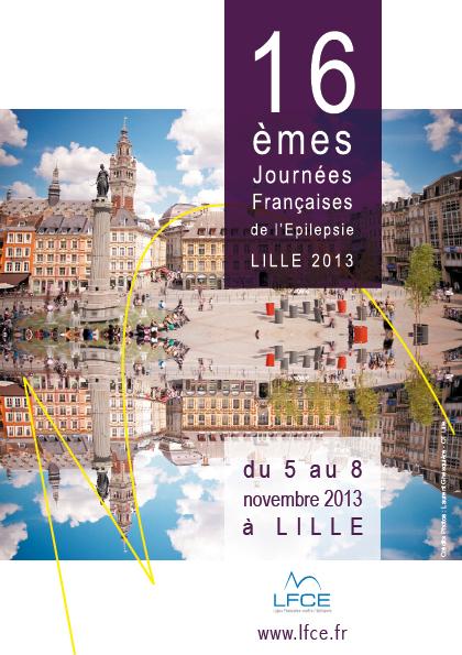 JFE 2013 - CONGRES D'EPILEPTOLOGIE - LILLE (568 PERSONNES)