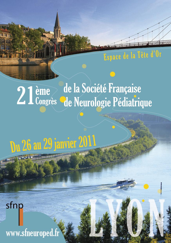 SFNP 2011 - CONGRES DE NEUROPEDIATRIE - LYON (631 PERSONNES)